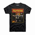 PULP FICTION T-SHIRT COVER VINCENT VEGA & JULES WINNFIELD